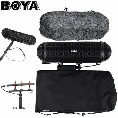 BOYA  BY-WS1000 Pig Cage Handle Shock Absorber Windshield For Shotgun Microphone