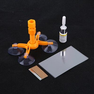 Glass Crack Restore Kit Windscreen Windshield Scratch Repair Tool Car Kit Set US