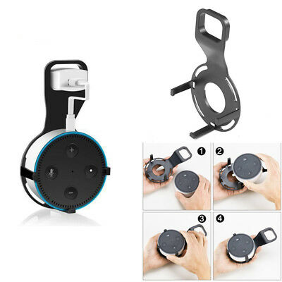 AU Home Wall Mount Holder Bracket Stand + USB Cable For Amazon Echo Dot 2
