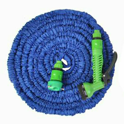 25FT Expanding Flexible Water Hose Pipe Home Garden Hose Watering