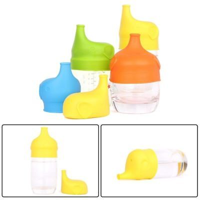 Popular Reusable Babies Kids BPA-Free Silicone Sippy Lids For Any Cup Magic