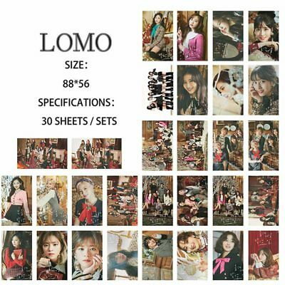 30pcs Kpop TWICE YES OR YES Paper Lomo Photo Card Sana Collective Photocard New