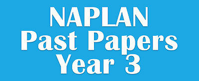 NAPLAN Past Papers Year 3 with answers
