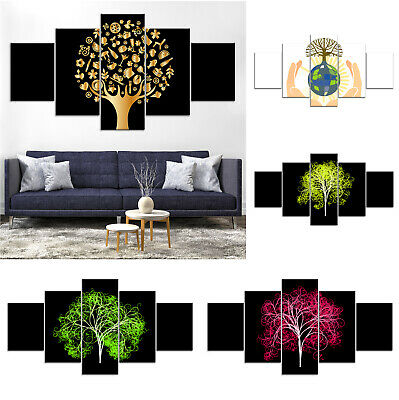 Tree of Life Abstract Canvas Print Painting Framed Home Decor Wall Art ee Poster