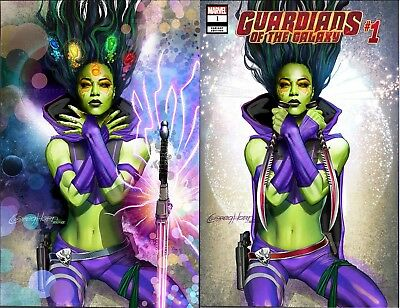 Guardians Of The Galaxy 1 2019 Greg Horn Cover Virgin Variant Set Pre-Sale 1/23