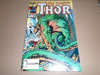 THE MIGHTY THOR #341 Marvel Comics 1984 VF/NM