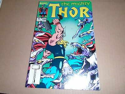 THE MIGHTY THOR #346 Marvel Comics 1984 FN/VF
