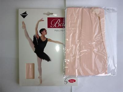 Children/'s Silky Full Foot Ballet Tights Footed Dance Tights Ages 3-13 in Pink