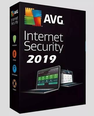 AVG Internet Security 2019 Licence Key 1 Year 1 PC/device Activation key -Email