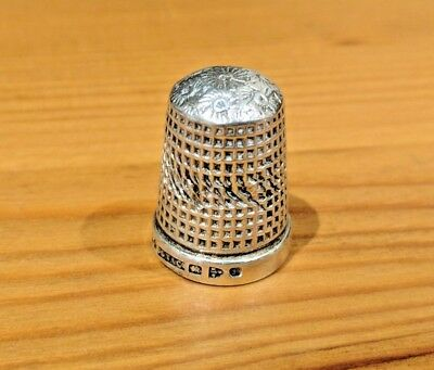 Sterling Silver Thimble 1900 - Marion & Co