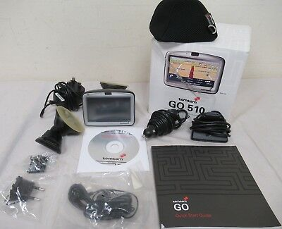 TomTom GO 510 Sat Nav With Accessories Boxed