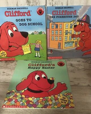 Clifford The Big Red Dog Read Alongbook Cd By Norman Bridwell