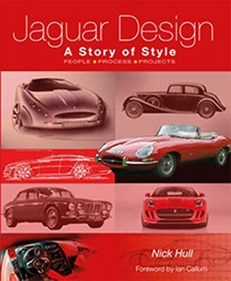 Jaguar Design A Story of Style by Nick Hull A story of style book paper cars