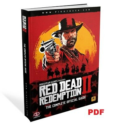 Red Dead Redemption 2 - Official Strategy Guide - PDF / Digital Download