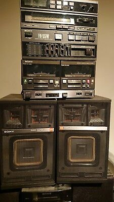 Sony FH-55W Hi-Density Component System . With Speaker - Working