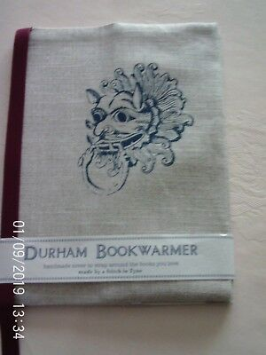 Handmade Fabric Bible, Book or Diary Cover Durham Cathedral Design