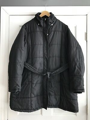 Motherhood Maternity Oh Baby Black Puffer Coat Jacket Womens XL