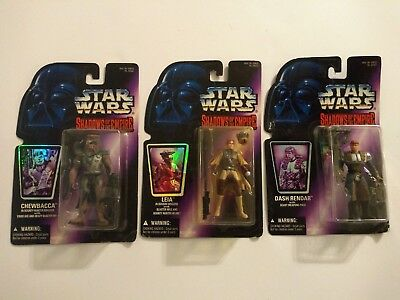 Star Wars - Shadows of the Empire - LOT of 3 Figures- 1996