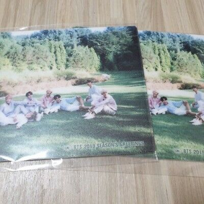 BTS 2019 Season's Greetings Pre-order Benefit Mouse pad Limited Rare