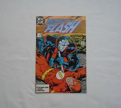 Flash #22 January 1989 Invasion Aftermath Extra! Chunk DC Comics Inc