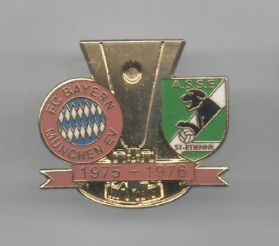 Pins Pin's Foot Asse Saint Etienne Bayern Munich 1976 Egf