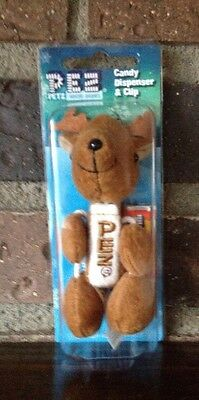 PEZ Arctic Babies Caribou Plush Dispenser & Clip Candy New NIP 2008 Collectible