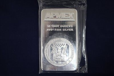 Apmex 10 oz .999 Fine Silver Bar - Sealed