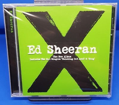 Ed Sheeran - X (multiply) CD *NEW + Sealed* (2014)