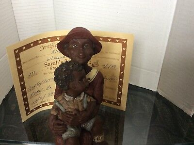 Sarah's Attic WOOPIE AND WOOSTER Collectable Figurine with Certificate