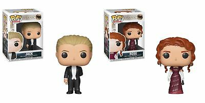 Funko POP! Titanic: Jack + Rose - Stylized Vinyl Figure Set