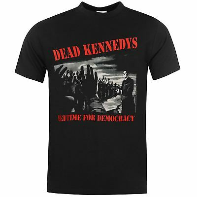 Dead Kennedys Bedtime For Democracy Camiseta Negro de Hombre Música Top Camiseta