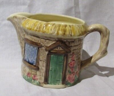 Staffordshire Crown Windsor Croft Cottage Creamer Hand Made/Painted in England