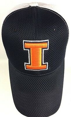 timeless design a4194 e296a Illinois Fighting Illini Top of the World TOW Fitted Hat Cap One Fit NCAA