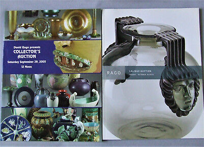 14 Old Auction Catalogs Mission Lalique Baseball Bronzes Paintings Art Pottery