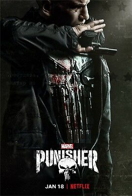 The Punisher Poster Season 2 Marvel Comics TV Series Frank Castle Art Print