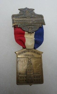 1940 Republican National Convention Philadelphia Honorary Asst SG'T At Arms Meda