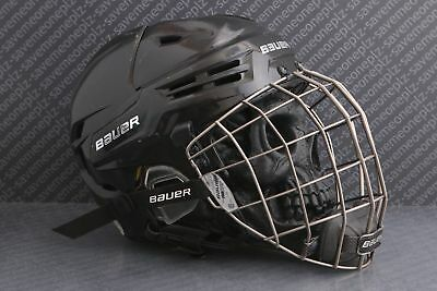 3339dd8009a USED BAUER RE-AKT Ice Hockey Helmet (Large  7 1 2 - 8) - Cage ...