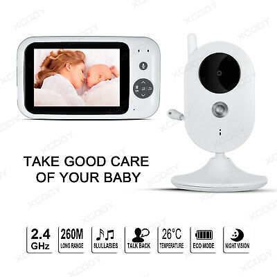 "Wireless 3.5"" LCD Digital Camera Baby Pet Dog Monitor Video Security Home Audio"