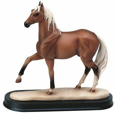 7 Inch Brown Horse Animal Figurine Statue Collectible Figure Wild Nature