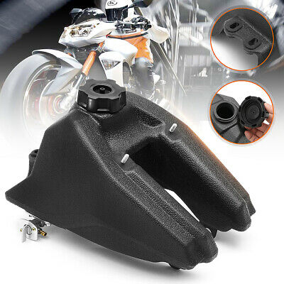 ATV Gas Fuel Petrol Tank Black Fit For Kazuma Meerkat Redcat 50cc Quad 4 Wheeler
