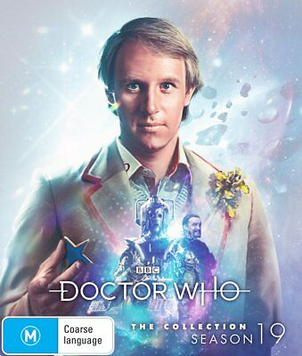 Doctor Who - Classic : Series 19 (Blu-ray, 2018, 8-Disc Set) Limited Edition RB