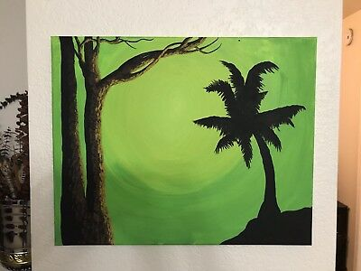 Original Acrylic On Canvas Painting By Steph White Art ~ Home Decor ~ Wall Art