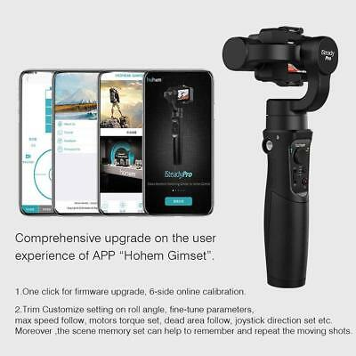 Hohem iSteady Pro 3-axis Video Gimbal Stabilizer APP Control for SJCAM GoPro Cam