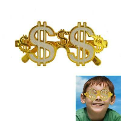 Dollar Sunglasses Gold Dollar Glasses Fancy Dress Birthday Party Accessories Fun