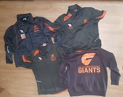Greater Western Sydney Giants (GWS) clothing