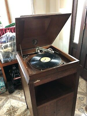 Antique Silvertone Phonograph