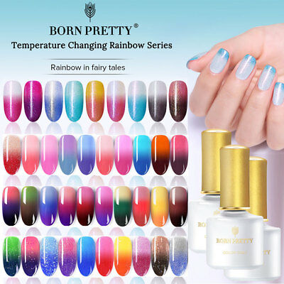 6ml Thermo Nail Art Vernis à Ongles UV Gel Nail Polish Semi-permanent Manucure