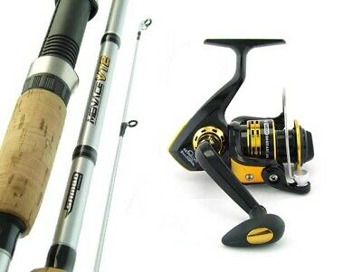 SAMBO MENACE 7'0 8kg Carbon Fibre Spinning Fishing Rod and Reel Combo Bream Bass