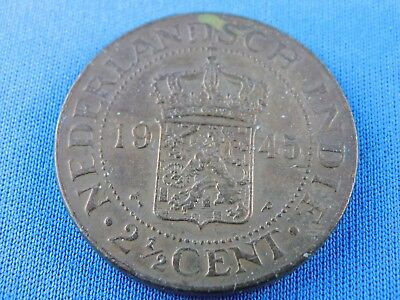 Netherland Indies 2 1/2 Cent 1945  Indonesia   (Z/461)
