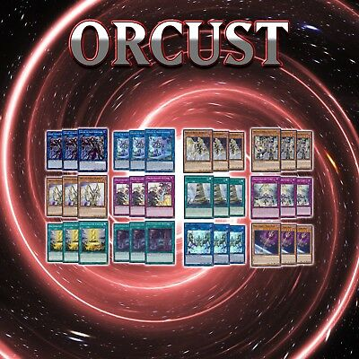 ORCUST DECK CORE | 36 Cards | SOFU YuGiOh